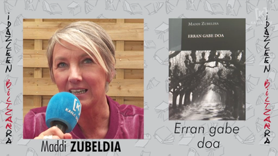 Idazleen Biltzarra 2019 - Maddi Zubeldia