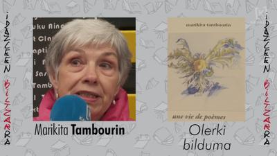 Idazleen Biltzarra 2019 - Marikita Tambourin