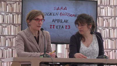 Idazleen Biltzarra 2019 - Bigarren Egunaren idekitzea eta Bilketa programa