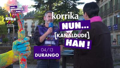Korrika Nun Kanaldude Han: Durango