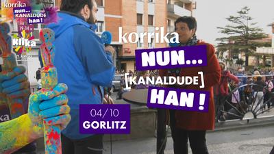 Korrika Nun Kanaldude Han: Gorliz
