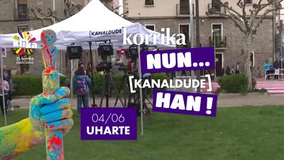 Korrika Nun Kanaldude Han: Uharte