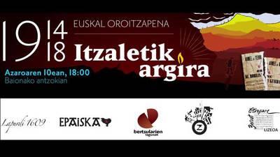 1914-1918 Euskal oroitzapena, Itzaletik argira