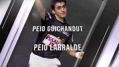 Eskulari Pro 2020 - Final erdiak- Peio Guichandut VS  Peio Larralde