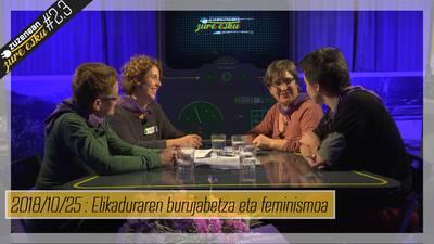 ZUZENEAN ZURE ESKU #2.3 - Elikadura burujabetza eta feminismoa eskutik