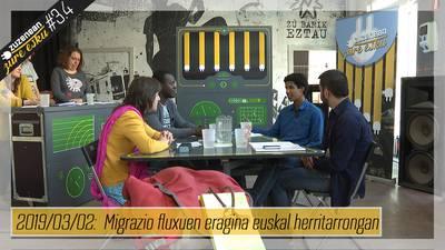 Zuzenean Zure Esku #3.4 - Migrazio fluxuen eragina euskal herritarrongan