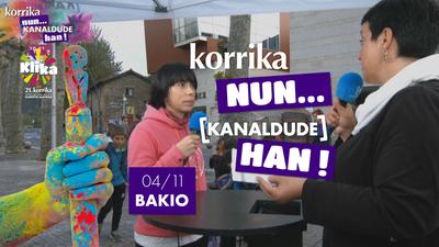 Korrika Nun Kanaldude Han: Bakio