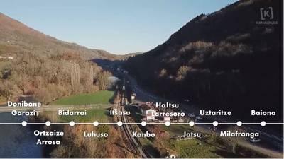 Tren bidea Garazi-Baiona