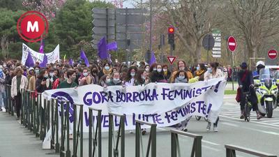 Greba feminista kari, zaintza-lanak argitan
