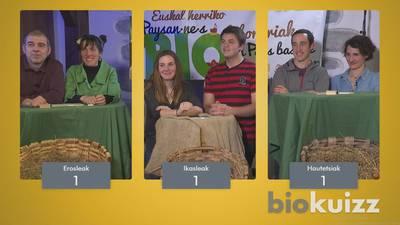 Zuzenean Zure Esku #3.3 -  BIOKUIZZ : Laborantza biologikoa, aurreiritziak eta engaiamenduak