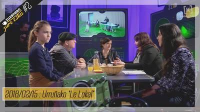"""Zuzenean Zure Esku #2 - Urruñako """"Le Lokal"""""""